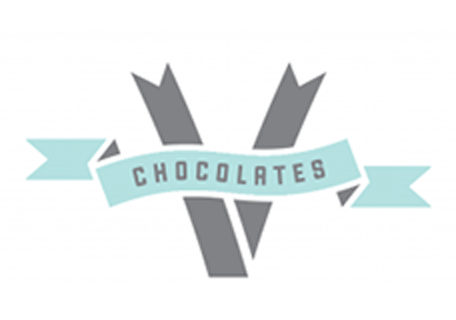 V Chocolates Logo